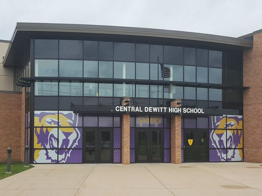Central DeWitt High School Entrance
