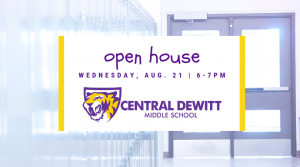 Middle School Open House Event Flyer